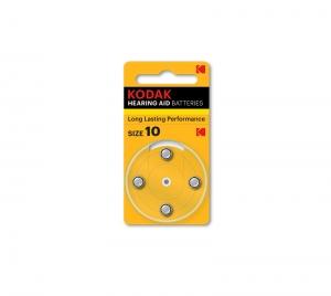 KODAK Hearing Aid Batteries 10