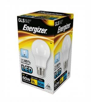 ΛΑΜΠΑ ENERGIZER S15235 LED GLS(A60) E27 9W 806LM ΛΕΥΚΟ DAYLIGHT