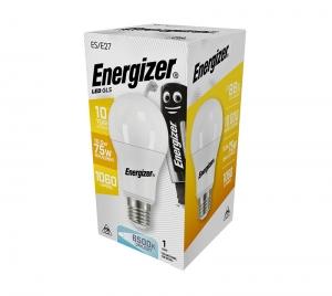ΛΑΜΠΑ ENERGIZER S15237 ΛΕΥΚΗ ΣΥΣΚΕΥΑΣΙΑ LED GLS(A60) E27 11.6W 1060LM ΛΕΥΚΟ DAYLIGHT