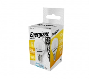 ΛΑΜΠΑ ENERGIZER S16581 ΛΕΥΚΗ ΣΥΣΚΕΥΑΣΙΑ LED GOLF E14 5,2W 470LM ΛΕΥΚΟ DAYLIGHT