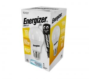 ΛΑΜΠΑ ENERGIZER S16605 ΛΕΥΚΗ ΣΥΣΚΕΥΑΣΙΑ LED GLS(A60) E27 8,2W 820LM ΛΕΥΚΟ DAYLIGHT
