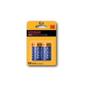 KODAK MAX Super Alkaline Batteries C
