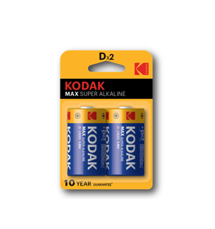 KODAK MAX Super Alkaline Batteries D